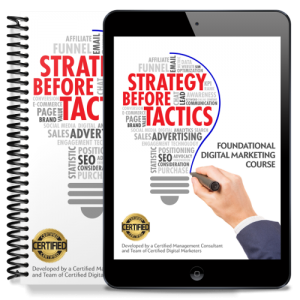 STRATEGY BEFORE TACTICS COURSE
